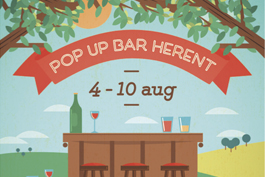 Pop Up Bar Herent